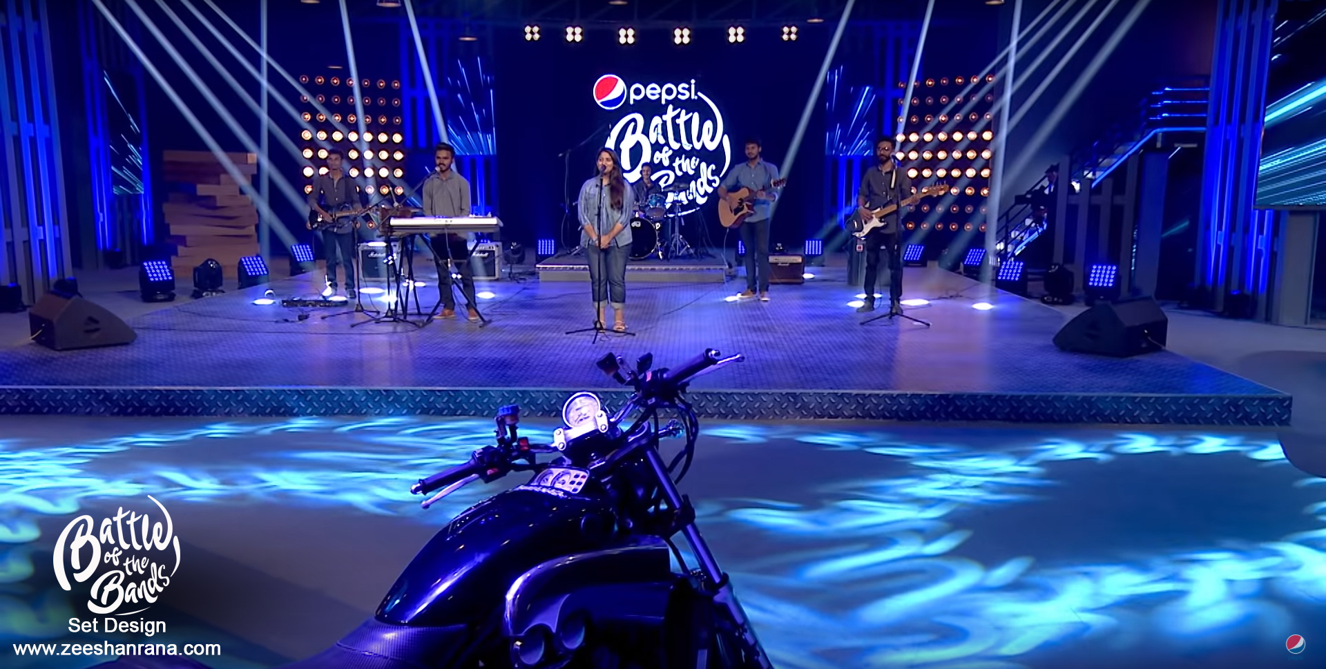 Pepsi Battle of the bands season 3 Audition Design